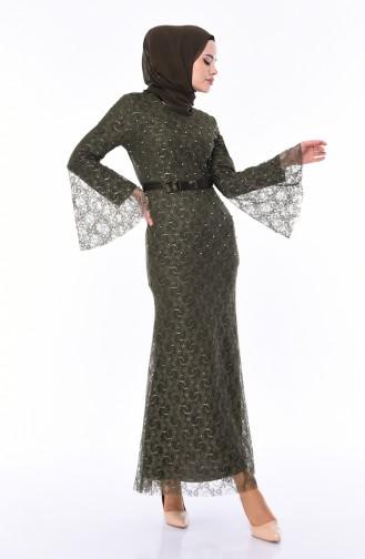 Robe Hijab Khaki 81689-05