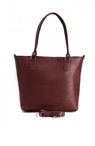 حقيبة كتف أحمر كلاريت 10617BO