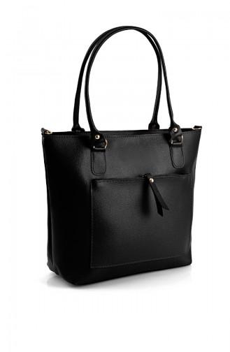 Black Shoulder Bag 10617SI