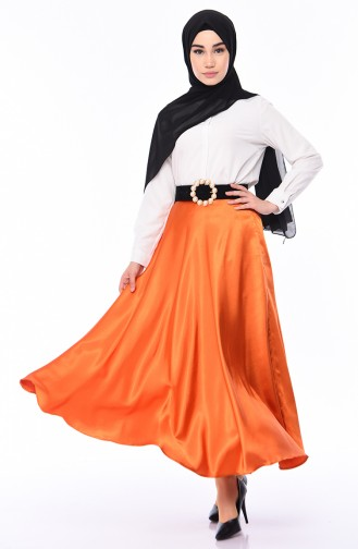 Satin Flare Skirt  21266-04 Tile 21266-04