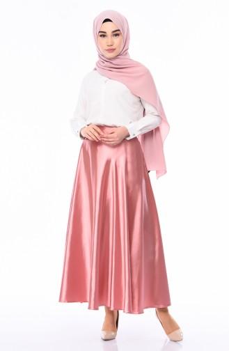 Satin Flare Skirt  21266-06 Powder 21266-06