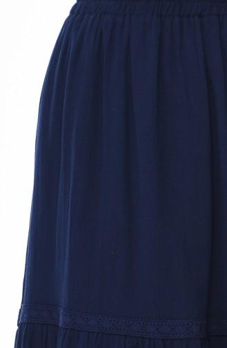 Navy Blue Rok 0220-02