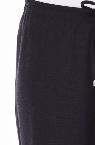 Double Paça Pantolon 2091-01 Koyu Füme