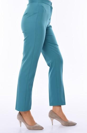 Pantalon Vert noisette 1102-16