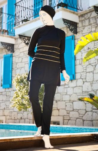 ملابس السباحة أسود 1909-01