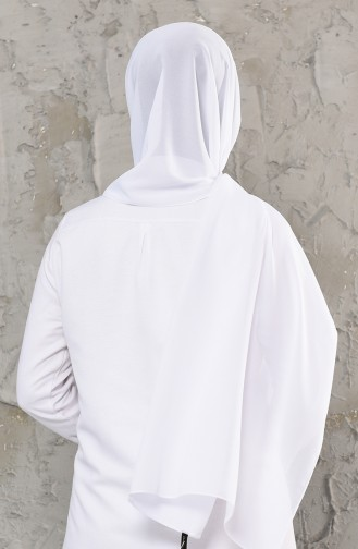 White Sjaal 13001-06