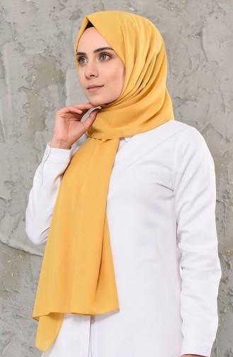 Light Mustard Shawl 13001-15