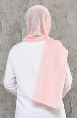 Plain Cotton Shawl 13009-02 Powder Pink 13009-02