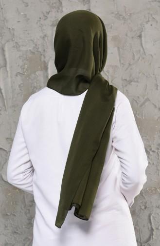 Plain Cotton Shawl 13009-03 Khaki 13009-03