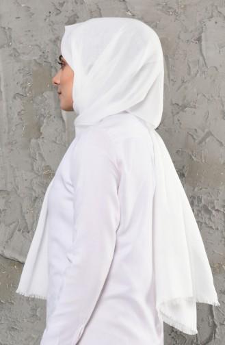 Plain Cotton Shawl 13009-18 light Beige 13009-18