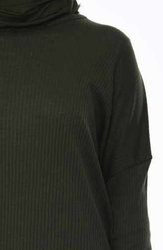 Bat Sleeve Tunic 8101-11 Emerald Green 8101-11