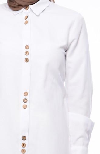 White Tunic 19503-05