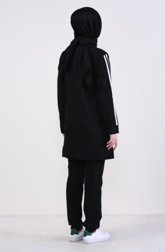 Black Sweatsuit 19016-01