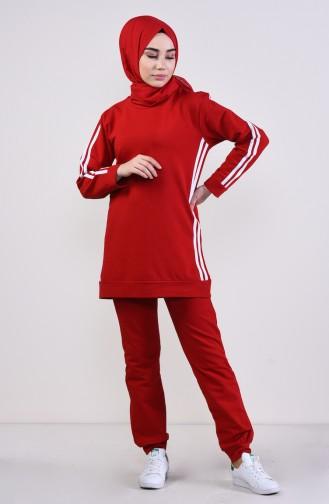 Red Trainingspak 19016-04