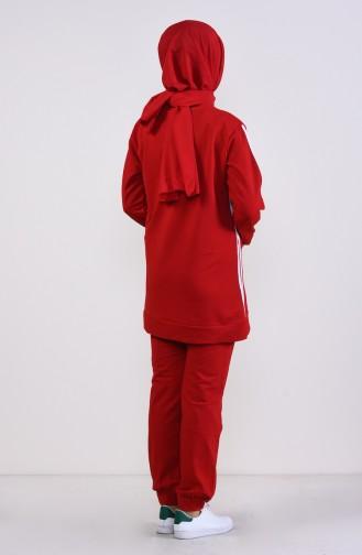 Survêtement Rouge 19016-03