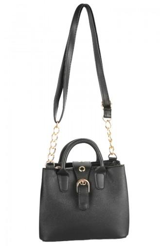 Women´s Shoulder Bag 3000-01 Black 3000-01