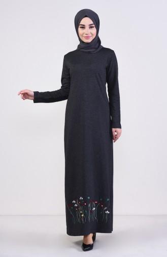 Robe Hijab Antracite 2980-13