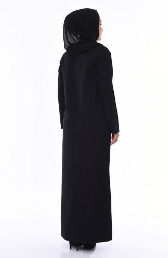 Black Abaya 99214-01