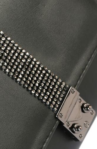 Ladies Cross Shoulder Bag 5007-01 Black 5007-01