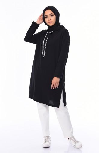 قميص رياضي أسود 8110-01