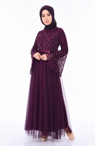 Habillé Hijab Pourpre 81663-04