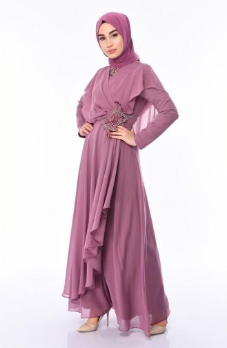 Habillé Hijab Rose Pâle 8008-02