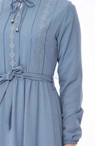 Blau Hijap Kleider 1193-05