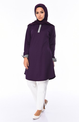 Purple Tunic 0685-04