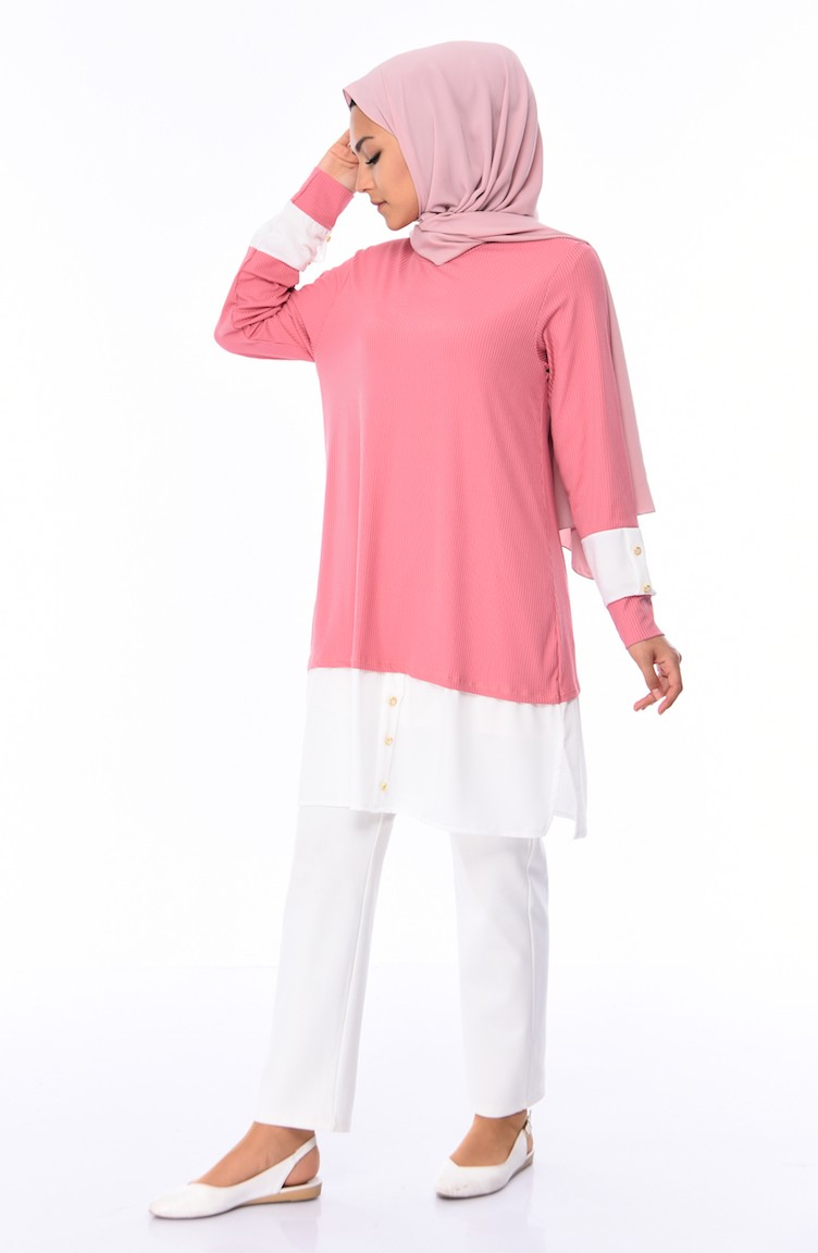 02105865d9d Dusty Rose Tunic 9035-02