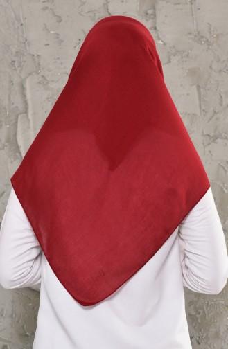 Claret red Scarf 13010-08