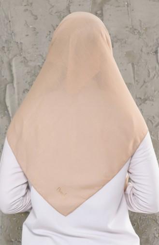 Dunkel-Beige Kopftuch 13010-20