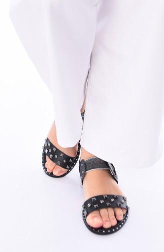 Sandales D`été Noir 3808-01