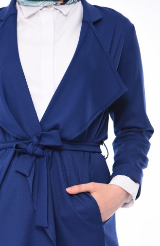 Indigo Trench Coats Models 5469-03