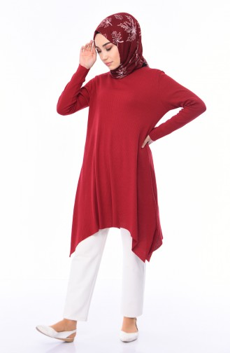 Claret red Tunic 8109-04