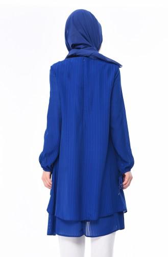 Saxon blue Tunic 0469-07