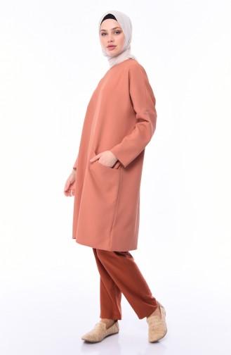 Cepli Tunik 3001-01 Soğan Kabuğu