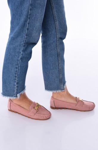 حذاء مسطح باودر 2021-04
