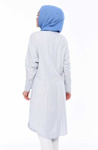 Chemise Bleu Bébé 9024-02