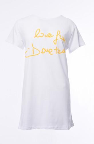 Yellow T-Shirt 0013K-01