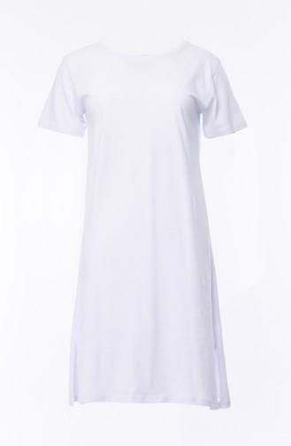 Basic Tshirt 19017-02 Beyaz