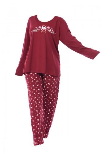 Pyjama Bordeaux 803043-02