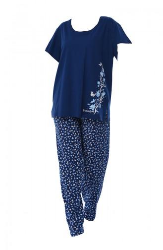 Pyjama Bleu Marine 810209-01