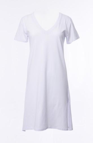 White T-Shirt 19018-02