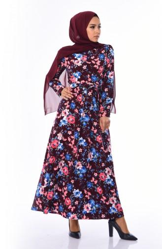 Koralle Hijap Kleider 2076-02