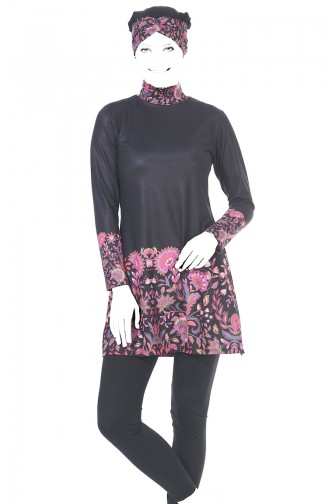 Black Swimsuit Hijab 1945-01