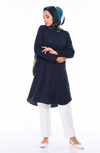 Navy Blue Tunic 0480-03
