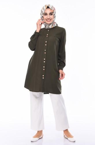 Khaki Tunic 0686-03