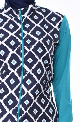 ملابس السباحة أزرق كحلي 1961-01