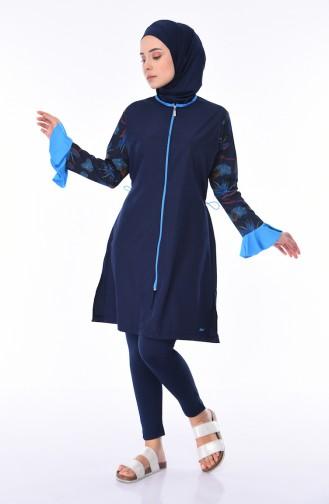 ملابس السباحة أزرق كحلي 270-02