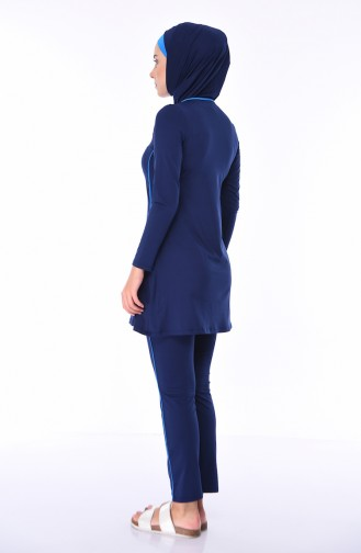 Hijab Badeanzug 1850-01 Dunkelblau 1850-01